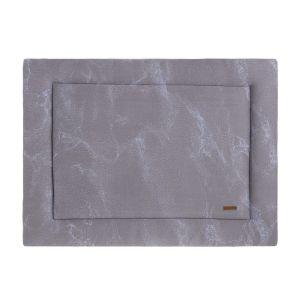 Laufgittereinlage Marble cool grey/lila - 75x95