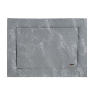 Laufgittereinlage Marble grau/silbergrau - 75x95