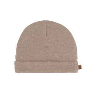 Mütze Melange clay - 0-3 Monate