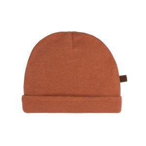 Mütze Melange honey - 0-3 Monate
