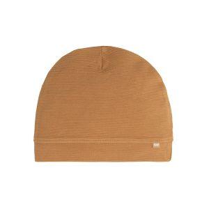 Mütze Pure caramel - 3-6 Monate