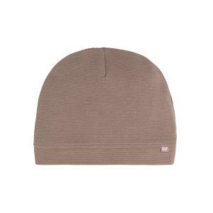 Mütze Pure mokka - 0-3 Monate