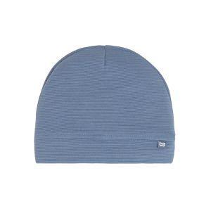 Mütze Pure vintage blue - 0-3 Monate