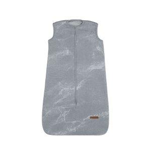 Schlafsack Marble grau/silbergrau - 70 cm