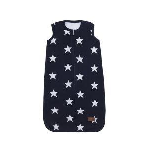 Schlafsack Star marine/weiß - 90 cm