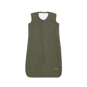Schlafsack teddyfutter Classic khaki - 70 cm