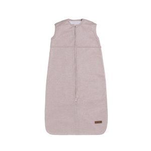 Schlafsack teddyfutter Sparkle silber-rosa melee - 70 cm