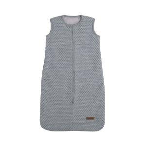 Schlafsack teddyfutter Sun grau/silbergrau - 70 cm