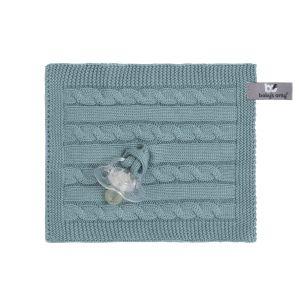 Schnullertuch Cable stonegreen