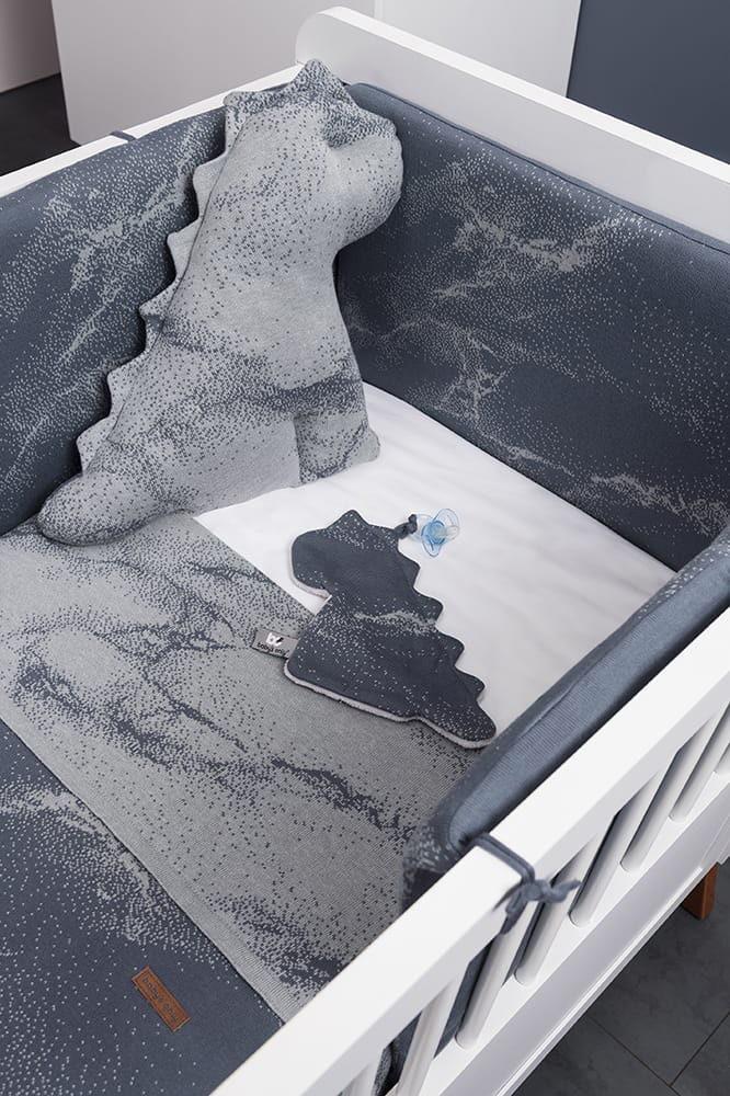 schnullertuch marble granitgrau