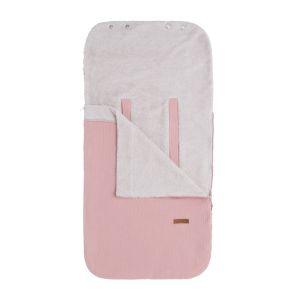 Sommer Fußsack Autositz 0+ Breeze alt rosa