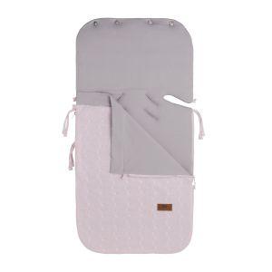 Sommer Fußsack Autositz 0+ Cable klassisch rosa