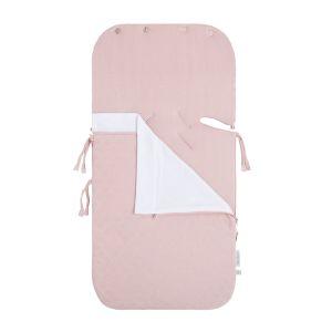 Sommer Fußsack Autositz 0+ Reef misty pink