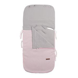 Sommer Fußsack Autositz 0+ Sun klassische rosa/baby rosa