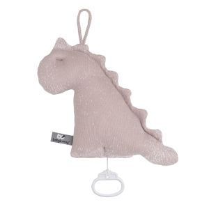Spieluhr Dino Marble alt rosa/klassisch rosa