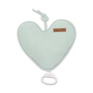 Spieluhr Herz Classic mint