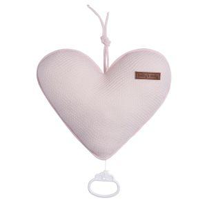 Spieluhr Herz Classic rosa