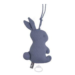 Spieluhr Kaninchen Cloud indigo