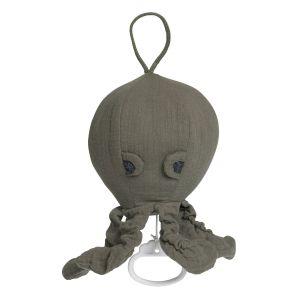 Spieluhr Oktopus Breeze khaki