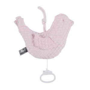 Spieluhr Vogel Sun klassisch rosa/baby rosa