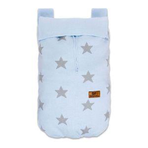 Spielzeugsack Star baby blau/grau