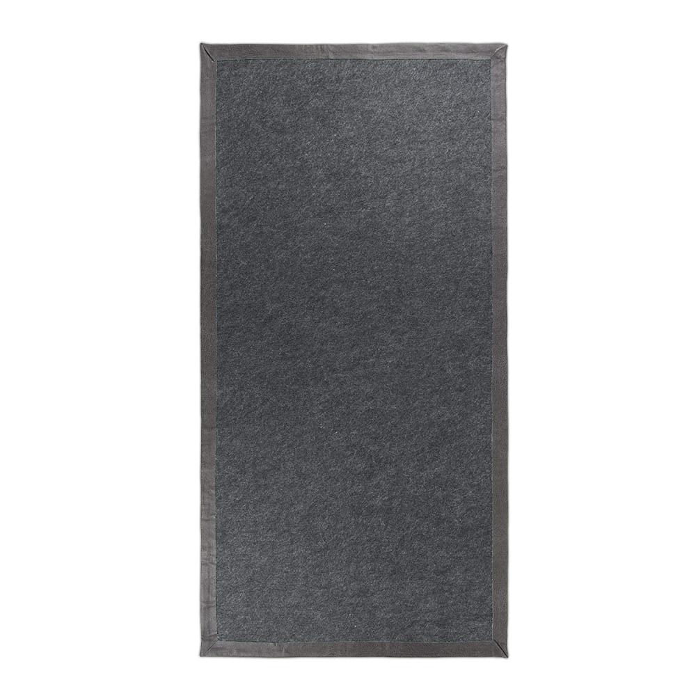 teppich korn grau 138x70