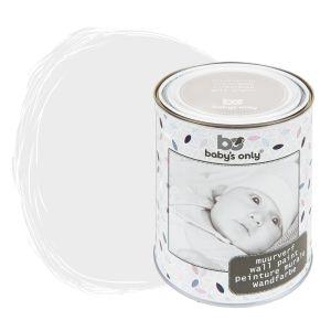 Wandfarbe silbergrau - 1 Liter