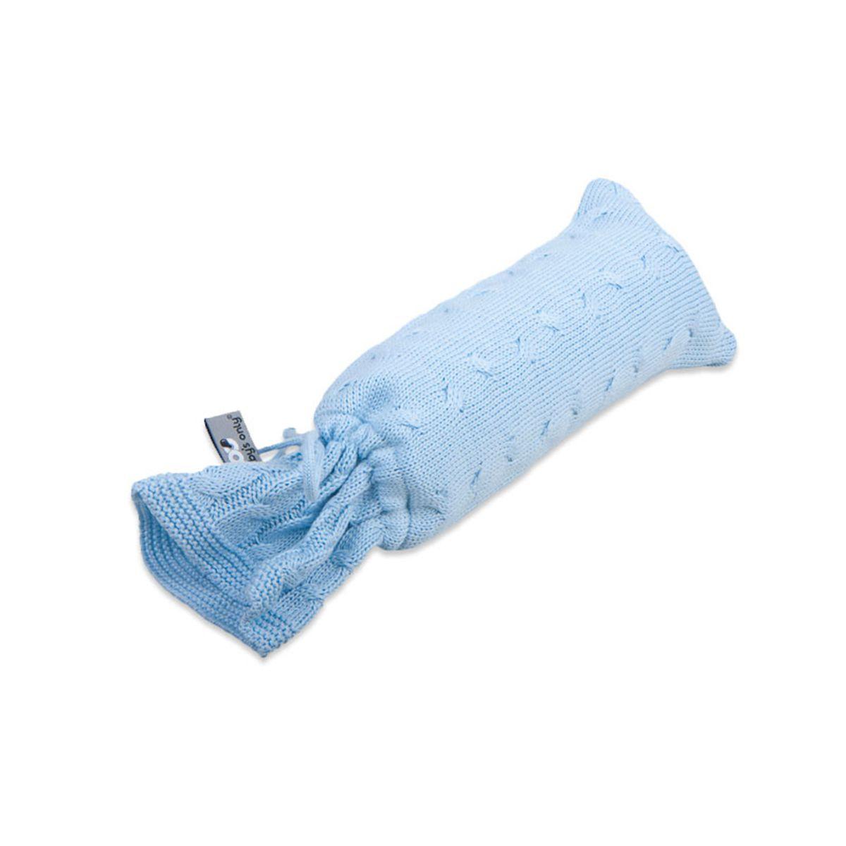 wrmflaschenbezug cable baby blau
