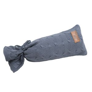 Wärmflaschenbezug Cable granit