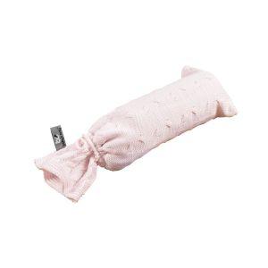 Wärmflaschenbezug Cable klassisch rosa