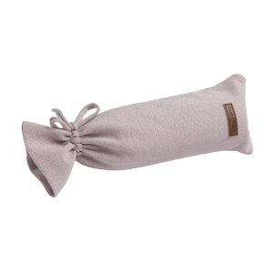 Wärmflaschenbezug Sparkle silber-rosa melee