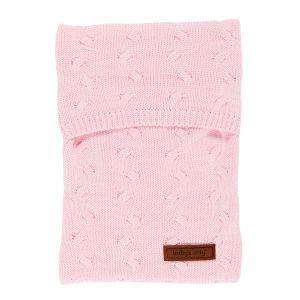 Wärmflaschenbezug Zensy Cable baby rosa