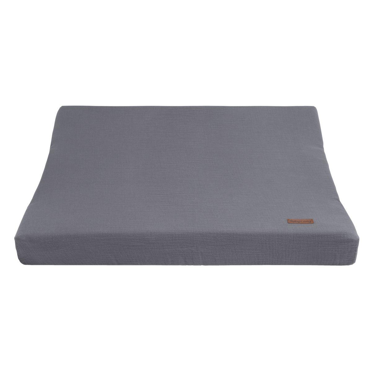 wickelauflagenbezug breeze anthrazit 45x70