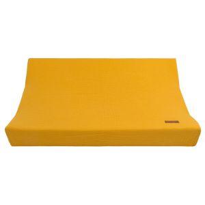 Wickelauflagenbezug Breeze ocker - 45x70