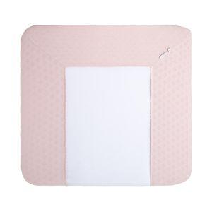 Wickelauflagenbezug Reef misty pink - 75x85