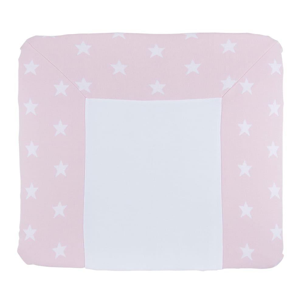 wickelauflagenbezug star baby rosawei 75x85