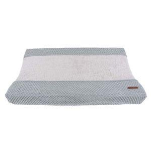 Wickelauflagenbezug Sun grau/silbergrau - 45x70